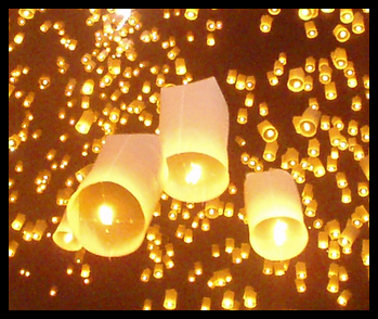 Paper Lanterns are set free!